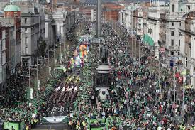 live watch the st patrick u0027s day parades in dublin and cork