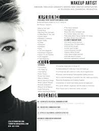 makeup artist resume template artist resume sle makeup artist resume sles reflection