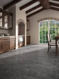 Granite Effect Laminate Flooring Faus Night Black Slate 8mm Tile Effect Laminate Floor 40346003