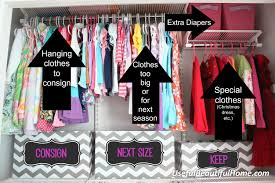 transform and reorganize your unused closet and think outside the box