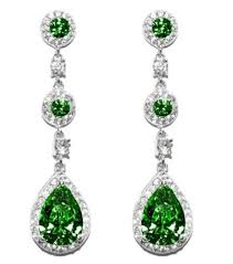 pear drop earrings lina emerald dangle pear drop earrings 4ct cubic zirconia