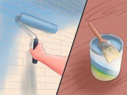 Paint For Interior Walls by How To Paint Masonry Walls 5 Steps With Pictures Wikihow