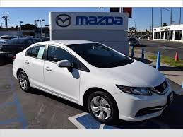used 2014 honda civic for sale in pasadena ca edmunds