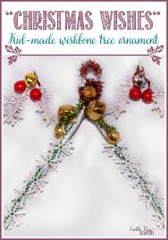 wishes wishbone tree ornament castle view academy