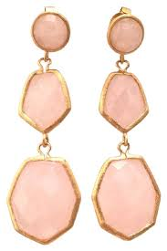 rivka friedman earrings pink rivka friedman wedding earrings up to 90 at tradesy