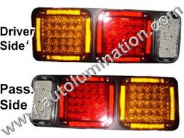 led lights for semi trucks led replacement tail taillights auxiliary lights 5th wheel semi
