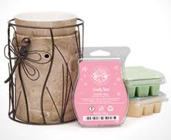 Alan Ward Bedroom Furniture Scentsy Travertine Silhouette Warmer With Dragonfly Wrap