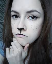 Halloween Makeup For A Cat Easy Halloween Makeup Black Cat January