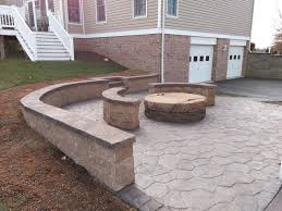 Concrete Decks And Patios Blough Contracting Washington Pa Decorative Concrete