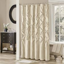 Bathroom With Shower Curtains Ideas Fabric Shower Curtain Blue And Brown White Stool Rings Ideas