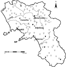 Campania Italy Map by Effects Of Climate Change On Groundwater Resources In Campania
