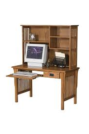 Arts And Craft Bookcase Arts And Crafts Computer Desk With Bookcase Hutch From Dutchcrafters
