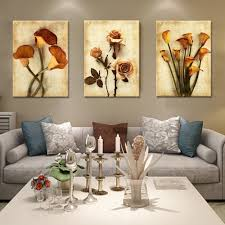 3 pieces canvas painting flower simple modern abstract home 3 pieces canvas painting flower simple modern abstract home decoration modular picture for living room wall