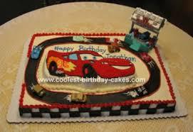 lightning mcqueen birthday cake cake pictures lightning bolt cars tattoo birthday party