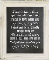 wedding quotes lyrics amazed lonestar song lyric quote digital design by jandsgraphics