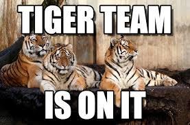 Tiger Meme - tiger team tiger team meme on memegen