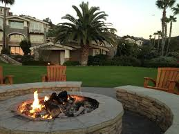 Beach Fire Pit by Fire Pit And Bungalow In The Background Picture Of Montage