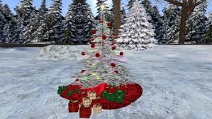 snowy christmas pictures second life marketplace rrs sculpted snowy christmas tree