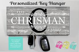 personalized key holder wall key rack housewarming gift