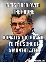 Penn State Memes - penn state memes on twitter the legend a respectful meme