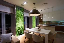 Indoor Garden Wall by Vertical Garden Walls Add Life To Apartment Interior