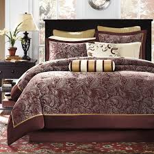 Madison Park Bedding Amazon Com Madison Park Aubrey 12 Piece Jacquard Comforter Set