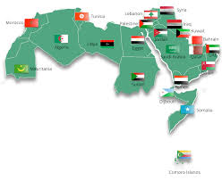 arab countries map cef eligible countries