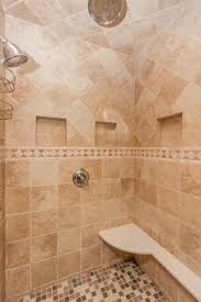 travertine bathroom tile ideas travertine shower and seat home design exles
