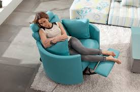 Reclining Armchairs Living Room Furniture Attractive Swivel Recliner Chairs For Placed Modern
