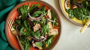 baby spinach salad with dates and almonds recipe nyt cooking
