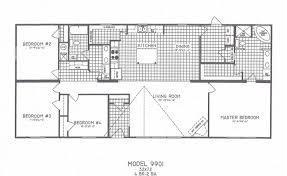 Four Bedroom House Floor Plans by 4 Bedroom Mobile Home Floor Plans