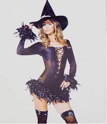 Witch Costume Halloween Free Shipping Black Magic Witch Costume Halloween Cosplay Dress
