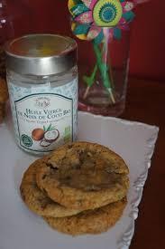 cuisine huile de coco cookies chocolat huile de coco de vivre