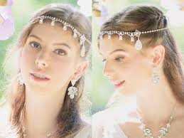 bridal headpiece goddess headpiece 12 timelessly beautiful bridal hair chains