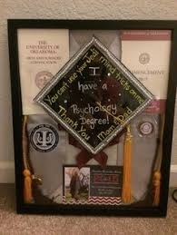 graduation shadow box cap and gown finally finished the graduation shadow box after two months i just