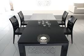 Italian Lacquer Dining Room Furniture Black Lacquer Dining Room Set Aerojackson
