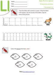 preschool worksheets letters a z tracing kindergarten phonics