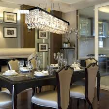 modern crystal chandeliers for dining room with contemporary