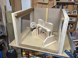 Wood Router Forum by Building New Benchtop Router Questions Homemade Shop Machines