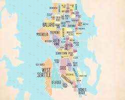 seattle map eastlake 8 best seattle maps images on seattle seattle map and