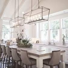 kitchen table light fixture rectangle chandelier 7 pinteres