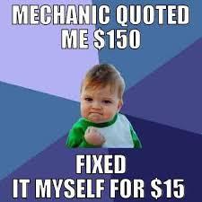 Gag Meme - fixing a car myself morepics net funny gag meme images the