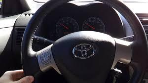 toyota car center 2010 toyota corolla s steering wheel center to left eps