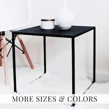 side tables modern side table black coffee table side table modern cube table bed