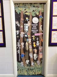 day door decorations world book day competition decorate a door bank primary
