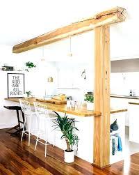 comment faire un bar de cuisine bar cuisine bois cuisine et bar cuisine avec bar cuisine et bar en