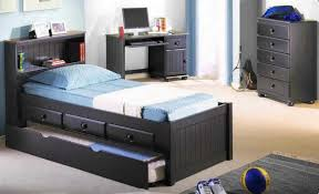 Bedroom Furniture Sets Black Boys Bedroom Furniture Sets With Wooden Storage Bed Home