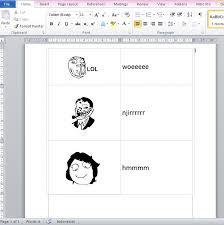 Cara Membuat Meme Comic - cara membuat gambar meme lucu di ms word semua versi tukang ketik