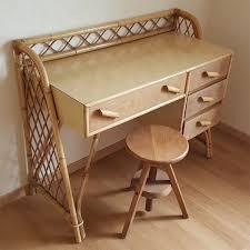 bureau en bambou broc co fauteuils salon chaises tables basses pouf bambou