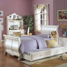 White Bedroom Gold Accents Acme Pearl White Full Sleigh Bed With Gold Accent Ac 01005f For